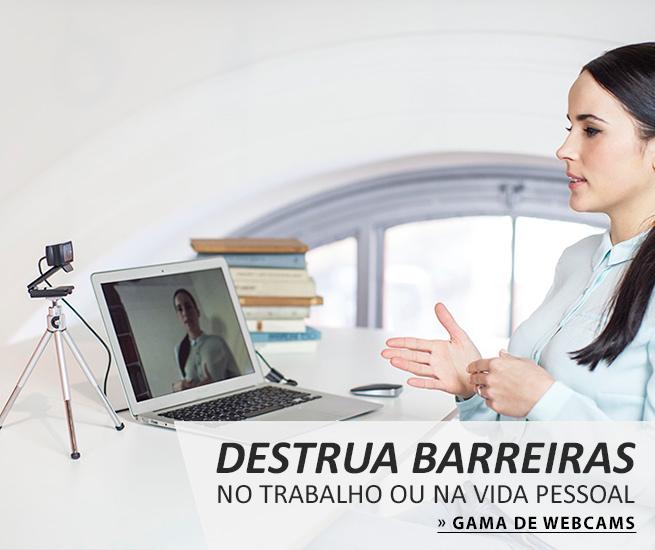 Gama de Webcams disponíveis na PCDIGA