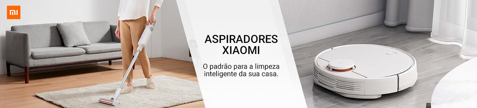 Aspiradores Xiaomi - O padrão para a limpeza inteligente da sua casa.