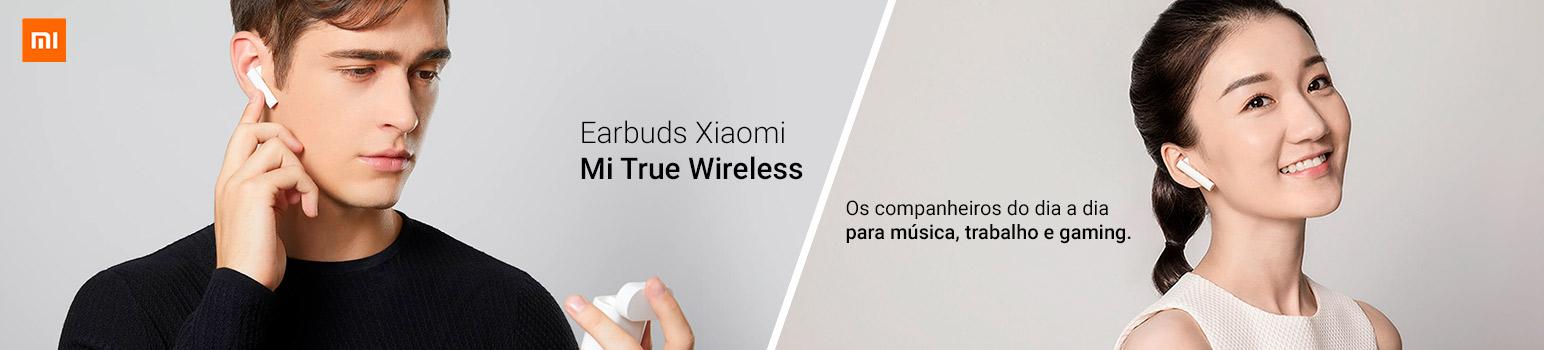 Earbuds Xiaomi - Os companheiros do dia a dia para música, trabalho e gaming.