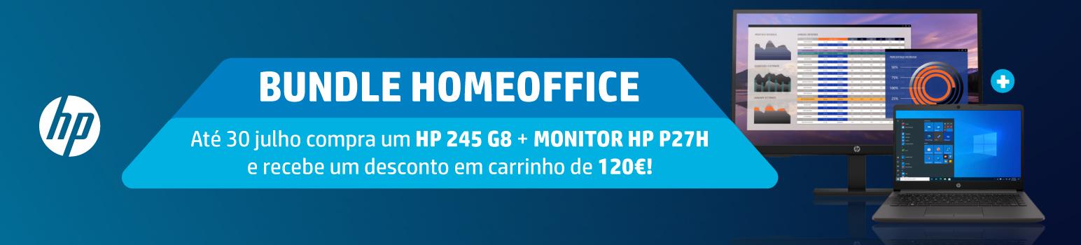 120€ De Desconto em Carrinho em Compra Conjunta Monitor + Portátil