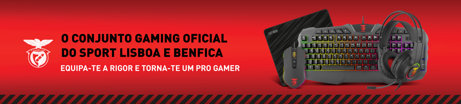 Bundle Gaming All4 eSports Powered By Sport Lisboa e Benfica