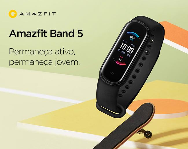 Amazfit Band 5 - Permaneça ativo, permaneça jovem