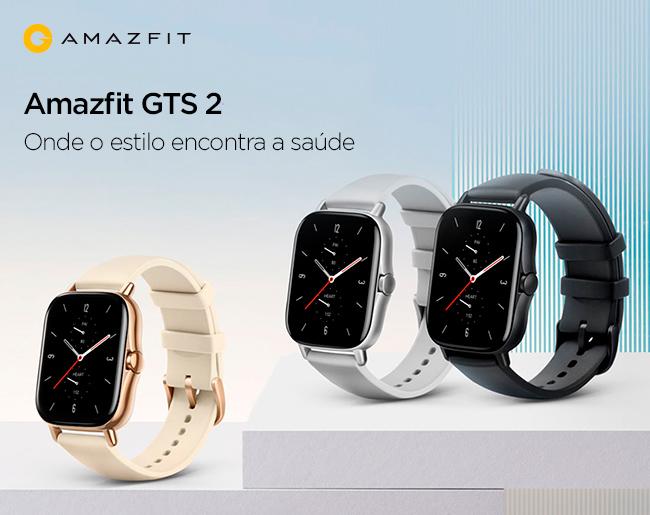 Amazfit GTS 2 - Onde o estilo encontra a saúde
