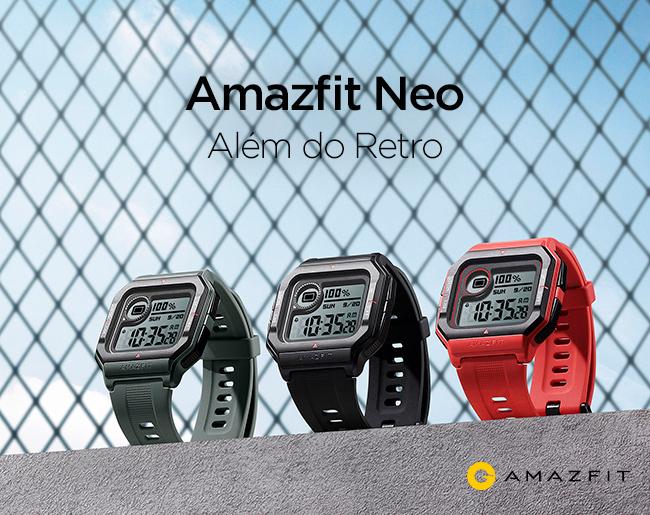 Amazfit Neo - Além do Retro