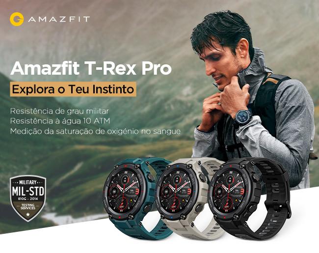 Amazfit T-Rex Pro - Explora o Teu Destino