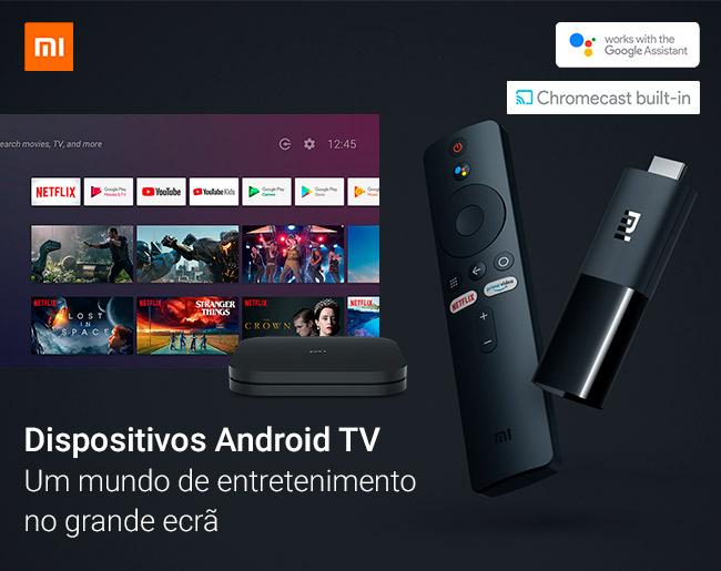 Mi Box e Mi TV Stick - Dispositivos Android TV Xiaomi