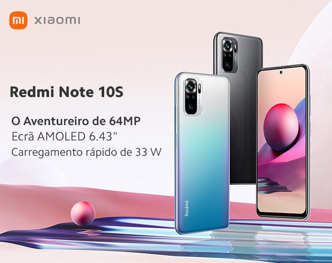 Redmi Note 10S   O Aventureiro de 64MP