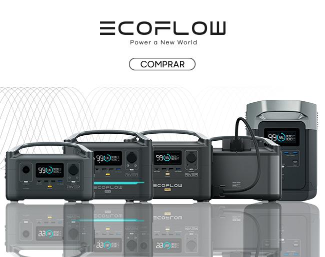 Baterias Portáteis EcoFlow | Power a New World