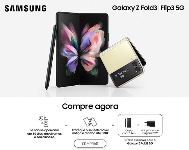 Galaxy Z Fold3 | Flip3 5G - Lançamento