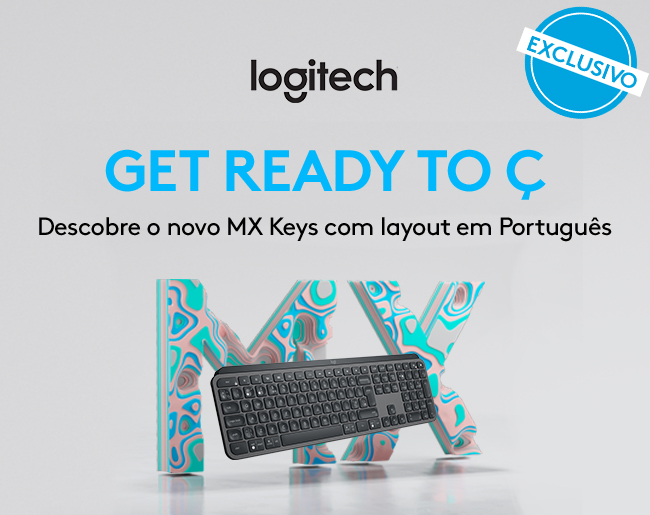 Teclado Logitech MX Keys Wireless PT Graphite