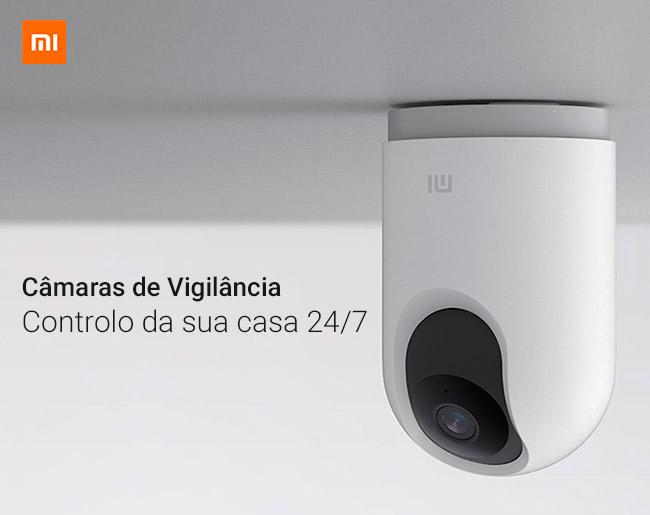 Câmaras de Vigilância Xiaomi - Controlo da sua casa 24/7
