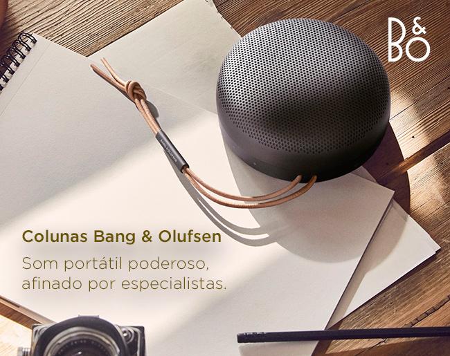Colunas Bang & Olufsen - Som portátil poderoso, afinado por especialistas.