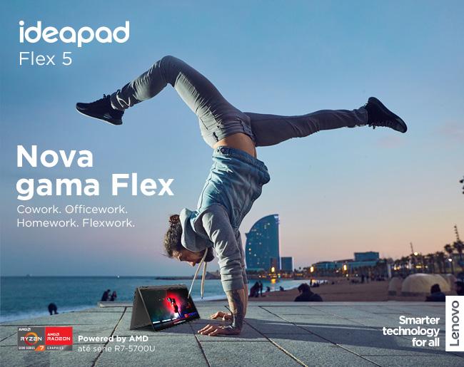 Lenovo Ideapad Flex | Cowork. Officework. Homework. Flexwork.