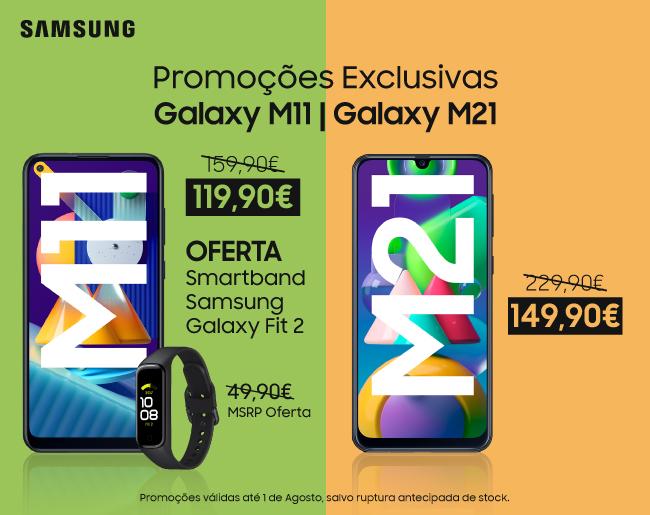 Promoções Exclusivas Galaxy M11 | Galaxy M21