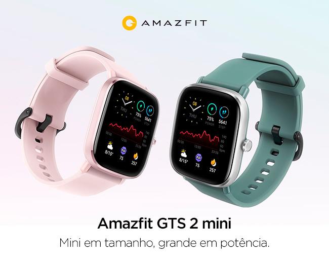 Amazfit GTS 2 mini - Mini em tamanho, grande em potência.