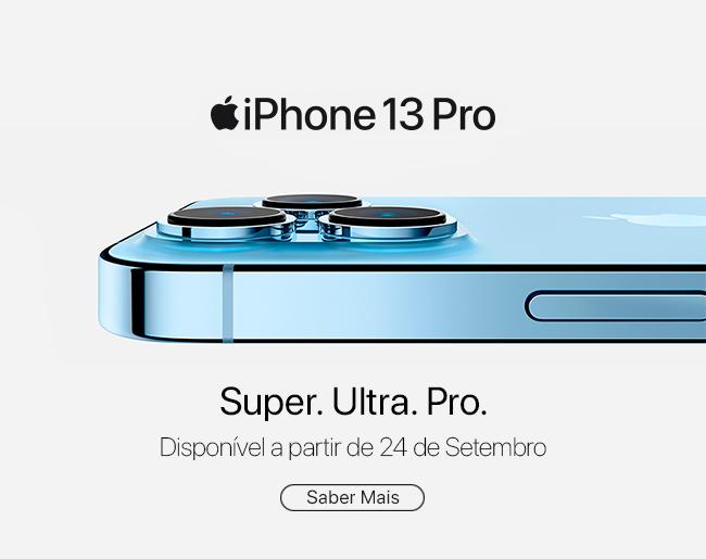 Apresentamos o iPhone 13 Pro e iPhone 13