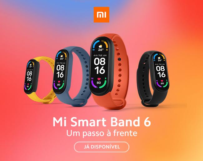 Xiaomi Mi Smart Band 6 - Um passo à frente