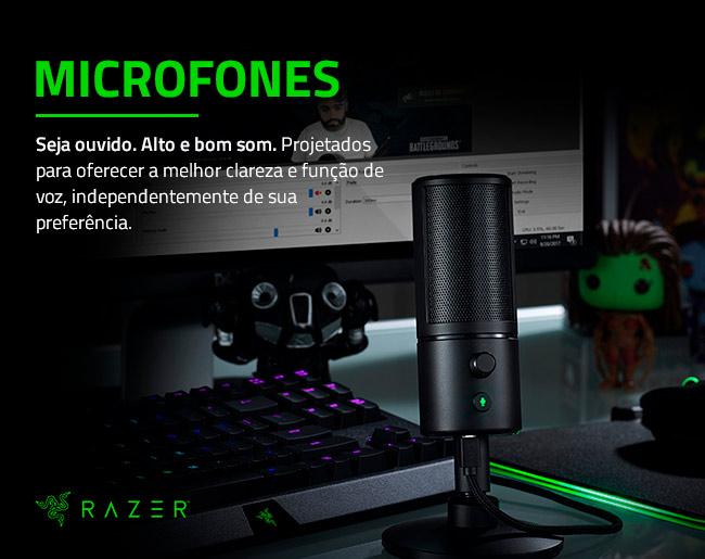 Microfones Razer