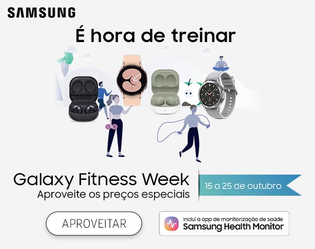 É hora de treinar | Galaxy Fitness Week