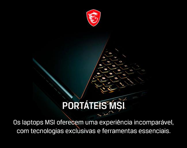 Portáteis MSI