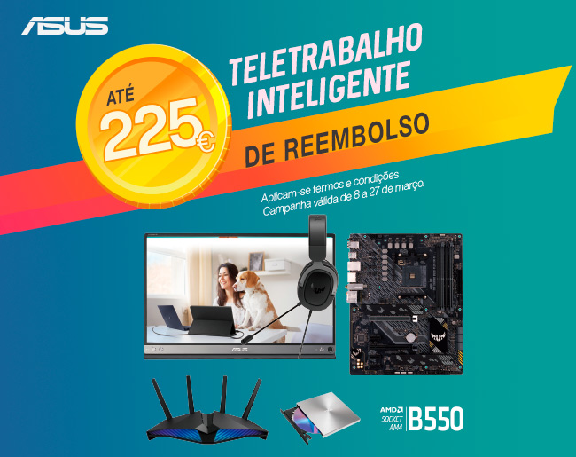 Teletrabalho Inteligente ASUS