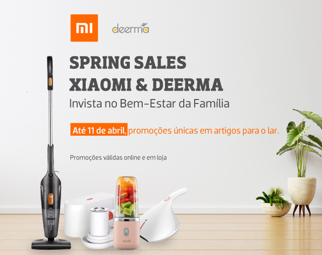 Sprint Sales Xiaomi & Deerma | Invista no Bem-Estar da Família