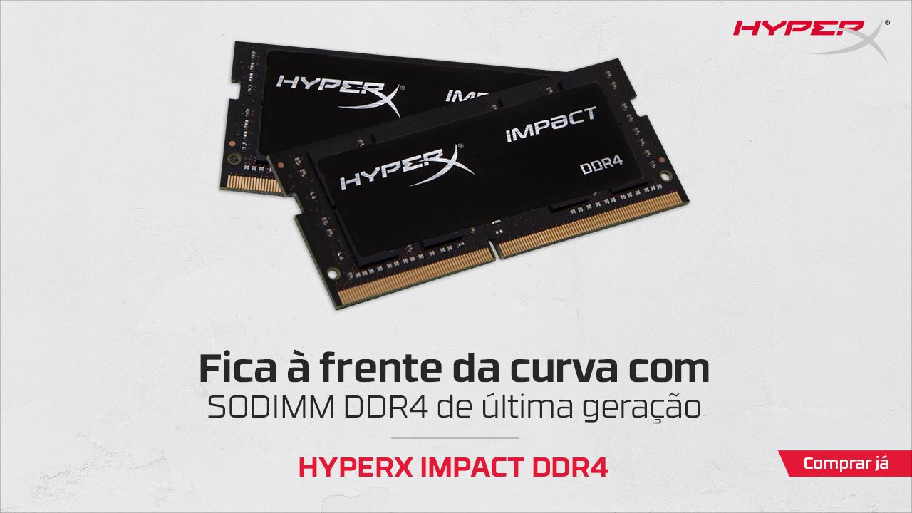 Memórias RAM HyperX Impact DDR4