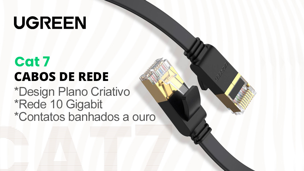 Cabos de Rede UGREEN Cat 7
