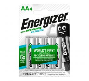 Pilhas Recarregáveis Energizer Extreme 1.2V LR6 AA (4 Unidades)