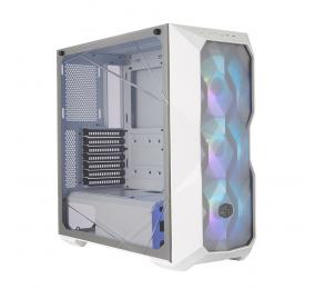Caixa Extended-ATX Cooler Master MasterBox TD500 ARGB Mesh White c/ Controlador