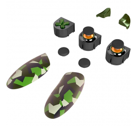 Acessórios p/ Gamepad Thrustmaster eSwap Pro Controller X Green Pack Xbox Series X|S/PC