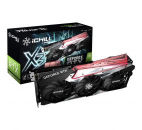 Placa Gráfica INNO3D GeForce RTX 3060 Ti iCHILL X3 RED 8GB GDDR6 LHR