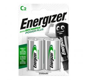 Pilhas Recarregáveis Energizer Power Plus 1.2V HR14 C (2 Unidades)