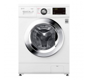Máquina de Lavar e Secar Roupa LG F4J3TG5WD 8/5kg 1400RPM E Branca