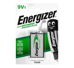 Pilha Recarregável Energizer Power Plus 9V 6LR61