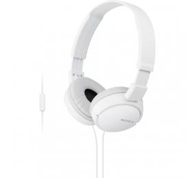 Headphones Sony MDR-ZX110AP Brancos