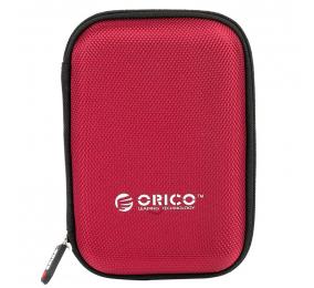 """Bolsa de Proteção Orico PHD-25 para HDD/SSD 2.5"""" Vermelha"""