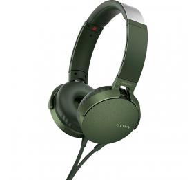 Headphones Sony XB550AP Extra Bass Verdes