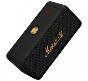 Coluna Marshall Emberton Bluetooth Black and Brass