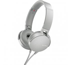 Headphones Sony XB550AP Extra Bass Brancos