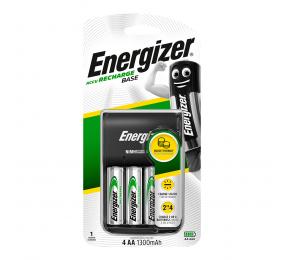 Carregador Energizer Base + 4 AA 1300mAh