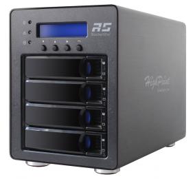 Caixa RAID HighPoint RocketStor 6124V 4 Baías USB 3.1 Gen 2 10Gb/s
