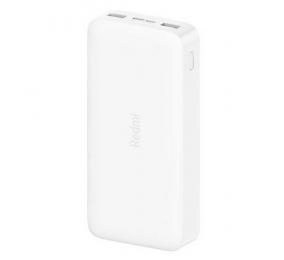 Powerbank Xiaomi Redmi 2 20000mAh 18W Fast Charge Branca