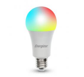 Lâmpada Inteligente Energizer Smart GLS E27 9W/60W 800Lumens RGB