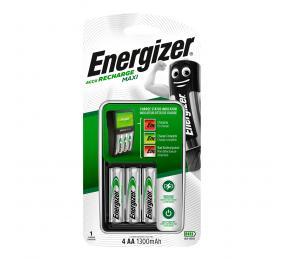 Carregador Energizer Maxi + 4 AA 1300mAh