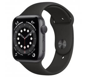 Apple Watch Series 6 GPS+Cellular 44mm Alumínio Cinzento Sideral c/ Bracelete Desportiva Preta