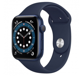 Apple Watch Series 6 GPS+Cellular 44mm Alumínio Azul c/ Bracelete Desportiva Azul Profundo