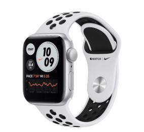 Apple Watch Nike SE GPS 40mm Alumínio Prateado c/ Bracelete Desportiva Platina-Pura/Preta