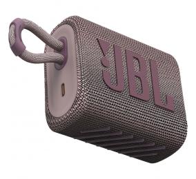 Coluna Portátil JBL GO 3 Bluetooth Rosa