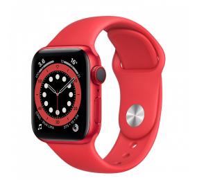 Apple Watch Series 6 GPS+Cellular 40mm Alumínio Vermelho c/ Bracelete Desportiva (Product) Red